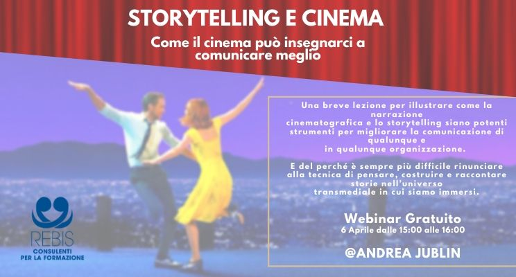 Webinar Storytelling e cinema